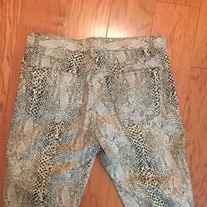 Paris Blues pants, Junior 9, animal print